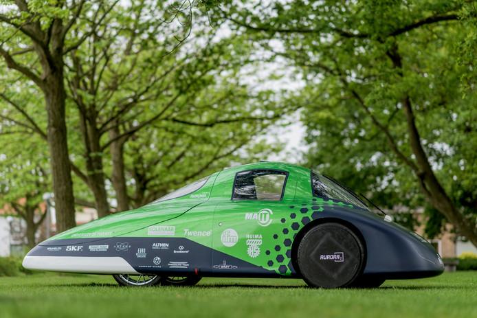 Tubantia: Green Team Twente van UT wint Europese Eco-marathon